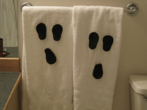Ghost Towels